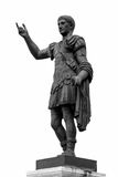 Ancient Roman Staue. Ancient Roman Statue Isolated On White Background Royalty Free Stock Image
