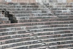 Ancient Roman STEPS in the Arena di Verona in Italy Royalty Free Stock Photos