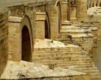 Ancient Roman Stone Bridge Royalty Free Stock Image