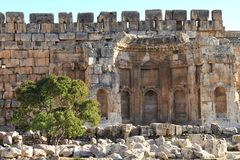 Ancient Roman temple Stock Image