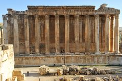 Ancient Roman temple Stock Photography