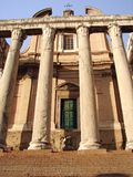 An Ancient Roman Temple Royalty Free Stock Images