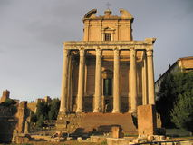 An Ancient Roman Temple Stock Photography