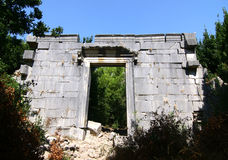 Ancient roman temple at Olympos / Kemer / Antalya Stock Images