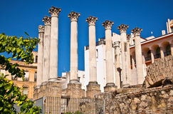 Ancient Roman temple Royalty Free Stock Photo