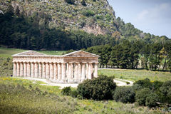 Ancient Roman temple of Venus Stock Image