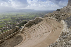Ancient Roman Theater Stock Photography