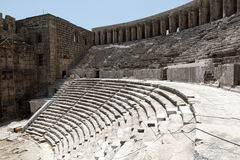 The ancient roman theater of Aspendos Stock Photos