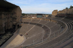 The ancient Roman theater in Orange, France Stock Images