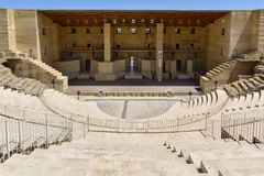 Ancient roman theater in Sagunto, Spain Royalty Free Stock Images
