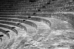 Ancient roman theatre Royalty Free Stock Photo