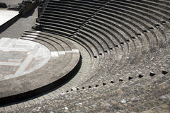 Ancient roman theatre Stock Photography