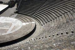 Ancient roman theatre stock photography