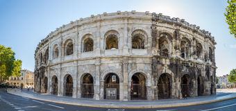 Ancient Roman Theatre (Arena) of Nimes Stock Image
