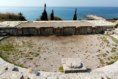 Ancient Roman theatre, Byblos Stock Photos