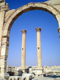 Ancient Roman time town in Palmyra, Syria Stock Photography