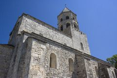 Ancient Romanesque Church royalty free stock images