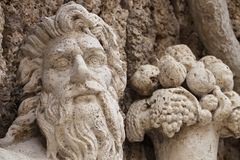 Ancient Rome Architecture and Sculptures royalty free stock photo