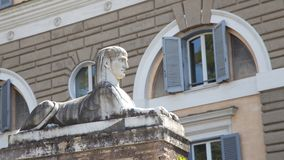 Ancient Rome Architecture and Sculptures, Rome Royalty Free Stock Photos