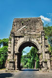 Ancient Rome City Gate. Ancient Rome ruined city gate, entrance from the Apian road Stock Photos