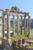 Ancient Rome city ruins Stock Images