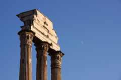 Ancient Rome Forum Stock Photography