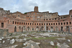Ancient Rome forums Royalty Free Stock Photo