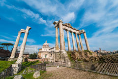 Ancient Rome ruines Stock Images