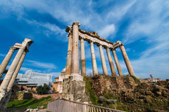 Ancient Rome ruines Stock Image