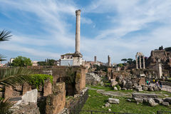 Ancient Rome ruines Royalty Free Stock Photography