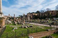 Ancient Rome ruines Stock Photos