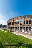 Ancient Rome ruines on bright Stock Photography