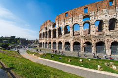 Ancient Rome ruines Stock Image