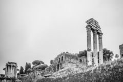 Ancient rome ruins Royalty Free Stock Images
