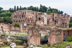 Ancient rome ruins Stock Image