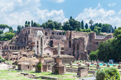 Ancient rome ruins Royalty Free Stock Photography