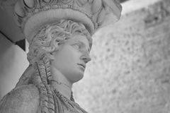 Ancient Rome Sculptures, Rome. Italy Stock Images