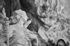 Ancient Rome Sculptures, Rome. Italy Royalty Free Stock Photos