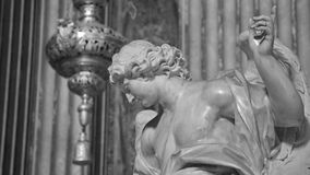 Ancient Rome Sculptures, Rome. Italy Royalty Free Stock Images