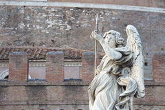 Ancient Rome Sculptures, Rome. Italy Royalty Free Stock Photography