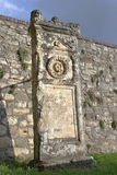 Ancient Rome stone monument Royalty Free Stock Photography