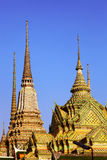 Ancient roof in Bkk a Stock Photography