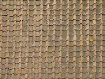 Ancient roof tiles Royalty Free Stock Image