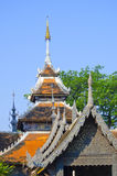 Ancient roof top in Chiangmai Royalty Free Stock Images