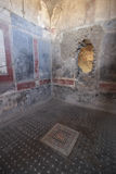 Ancient room in Pompeii, Italy Stock Images