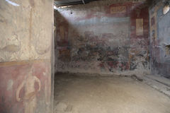 Ancient room in Pompeii, Italy Royalty Free Stock Photo