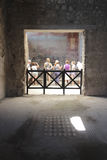 Ancient room in Pompeii, Italy Stock Image