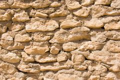 Ancient rough wall Royalty Free Stock Images