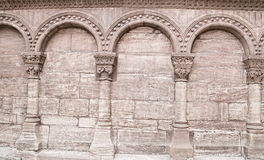 Ancient round archs Stock Photography
