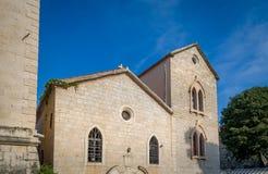 Ancient round church in Budva Royalty Free Stock Photo